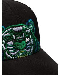 KENZO - Multicolor Embroided Tiger Canvas Cap for Men - Lyst