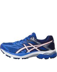 Asics - Gel Flux 4 Neutral Running Shoes Blue Purple/white/indigo Blue - Lyst