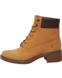 7d1dd6dcc05 Timberland Brinda 6 Inch Lace Boots Wheat in Brown - Lyst