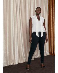 Violeta by Mango - Multicolor Super Slim-fit Andrea Jeans - Lyst