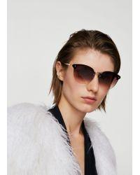Mango - Brown Sunglasses - Lyst