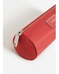 Mango - Orange Zip Cosmetic Bag - Lyst