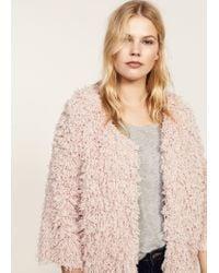 Violeta by Mango - Pink Jacket - Lyst