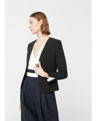 Mango | Black Essential Structured Blazer | Lyst
