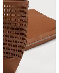 Violeta by Mango - Brown Laser-cut Design Bag - Lyst