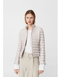 Mango | Multicolor Feather Down Coat | Lyst