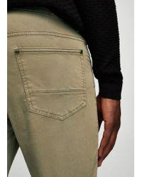 Mango   Natural Slim-fit 5 Pocket Cotton Trousers for Men   Lyst