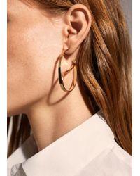 Mango - Metallic Earrings - Lyst