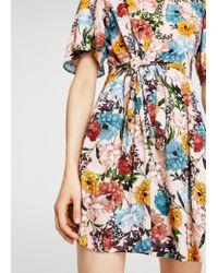 Mango - Pink Dress - Lyst