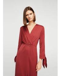 Mango - Orange Dress - Lyst