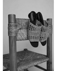 Mango - Natural Sandals - Lyst
