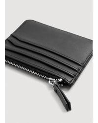 Mango | Black Multiple Compartment Cardholder | Lyst