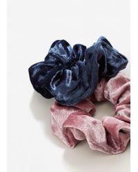 Mango - Pink Pack Hair Ties - Lyst