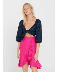 Mango   Multicolor Skirt   Lyst