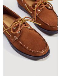 Mango Multicolor Suede Driving Shoes for men