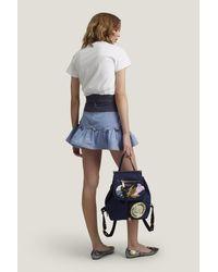 Marc Jacobs | Blue Embellished Nylon Zip Pack | Lyst