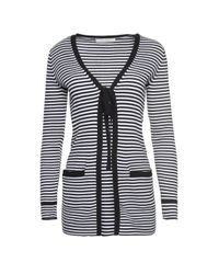 Marc Jacobs - Multicolor Striped V-neck Sweater - Lyst