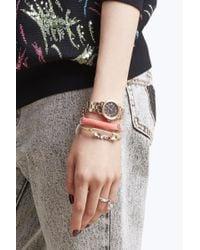 Marc Jacobs - Metallic Riley Bracelet 28mm - Lyst