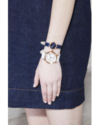 Marc Jacobs - Blue The Henry Watch 20mm - Lyst
