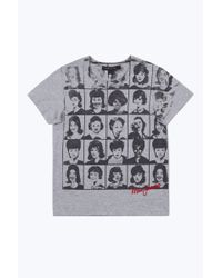 Marc Jacobs Gray Yearbook Tee