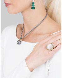 Inbar - Metallic Cabochon Ring - Lyst