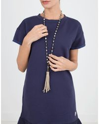 Jordan Alexander - Metallic And Tahitian Pearl Necklace - Lyst