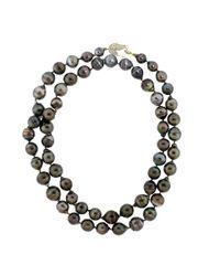 Jordan Alexander | Multicolor Tahitian Pearl Necklace | Lyst