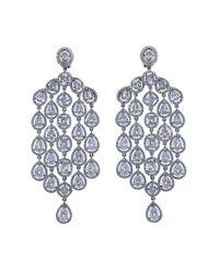 Arunashi - Multicolor Diamond Chandelier Earrings - Lyst
