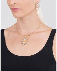 Larkspur & Hawk - Metallic Cora Neck Wire Necklace - Lyst