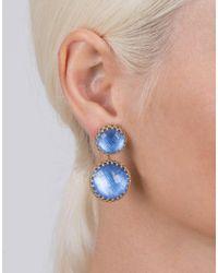 Larkspur & Hawk - Blue Large Olivia Earrings - Lyst