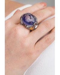Sevan Biçakci - Metallic Swan Amethyst Ring - Lyst