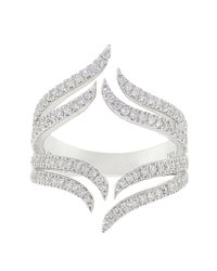 Dana Rebecca - Metallic Sarah Leah Diamond Ring - Lyst