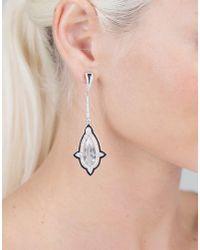 Inbar | Multicolor Aquamarine And Diamond Earrings | Lyst
