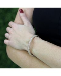 Mattia Cielo | Metallic Universo Diamond Pave Bracelet | Lyst