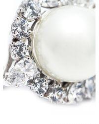 Fantasia Jewelry - Metallic Pearl Stud Earrings - Lyst