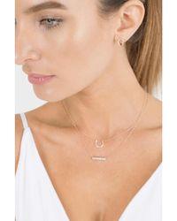 Dana Rebecca - Metallic Opal And Diamond Pave Heart Necklace - Lyst