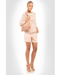Ermanno Scervino - Pink Rose Print Pullover - Lyst