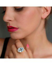 Irene Neuwirth | Blue Limited Edition Fine Aquamarine Ring | Lyst