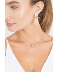 Dana Rebecca - Natural One Of A Kind Earrings - Lyst