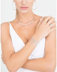 Mattia Cielo   White Rugiada Five-circle Wrap Bracelet   Lyst