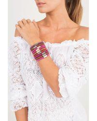 Carolina Bucci | Orange Red Twister Band Bracelet | Lyst
