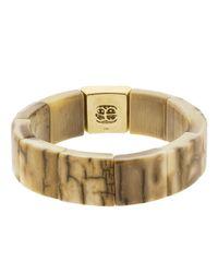 Sydney Evan | Metallic Large Diamond Pave Mammoth Bracelet | Lyst