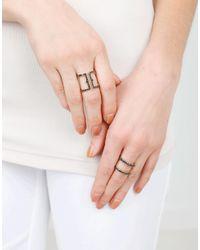 Sylva & Cie - Multicolor Wonder Woman Black Diamond Ring - Lyst