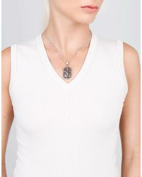 Sylva & Cie - Metallic Fancy Yellow Diamond Necklace - Lyst