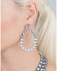 Larkspur & Hawk   Metallic Caterina Large Frame Earrings   Lyst