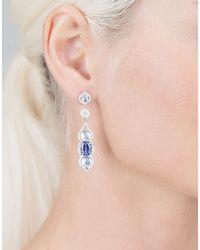 Inbar - Blue Cabochon Earrings - Lyst