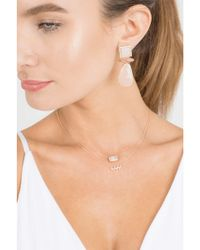 Dana Rebecca - Metallic Sadie Pearl Diamond Necklace - Lyst