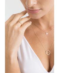 Dana Rebecca - Metallic Diamond Pave Star Ring - Lyst