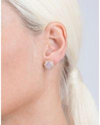 Dana Rebecca - Metallic Opal Stud Earrings - Lyst