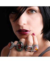 Sevan Biçakci - Red Carved Roses Ring - Lyst